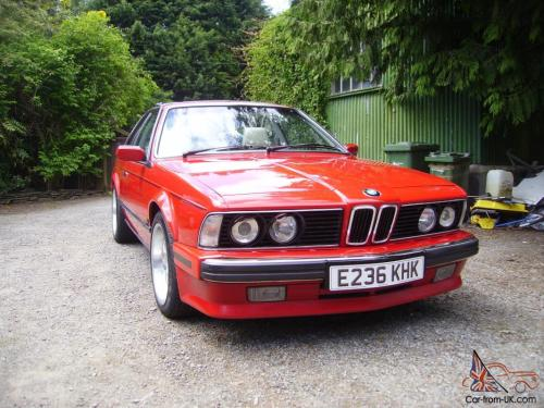 small resolution of 1988 bmw 635 csi auto red