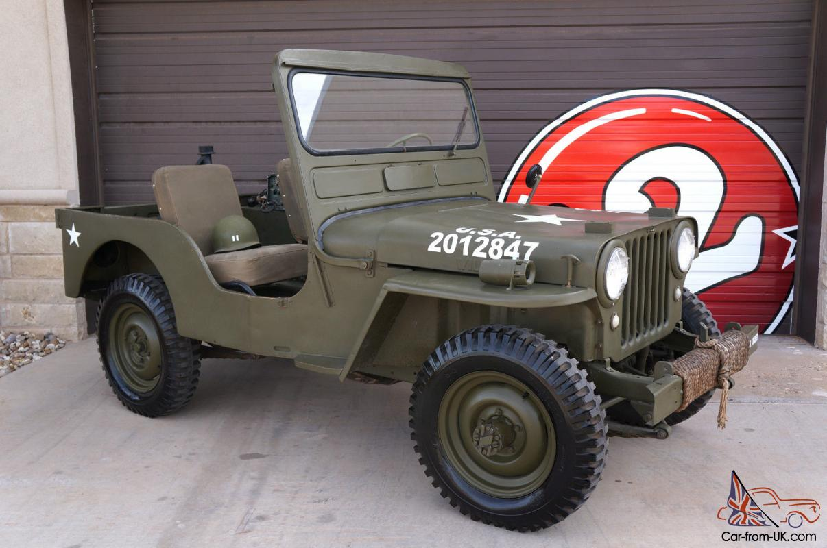 hight resolution of willys cj3a military jeep cj 3a photo