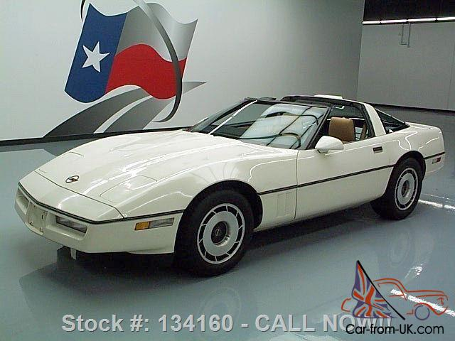 1985 CHEVY CORVETTE C4 L98 AUTO TARGA TOP BOSE ONLY 29K