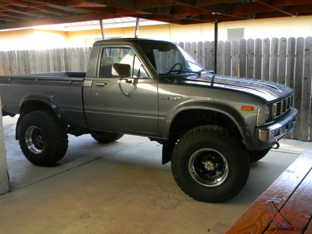 medium resolution of 81 82 83 toyota sr5 4x4 truck exceptonal new engine transmission paint photo
