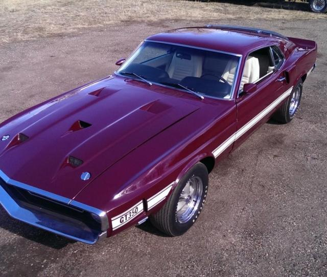 1969 Ford Shelby Gt  Speed Numbers Matching Motor And Transmission