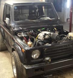 87 suzuki samurai 4 3 vortec v6 conversion fast photo [ 1422 x 800 Pixel ]