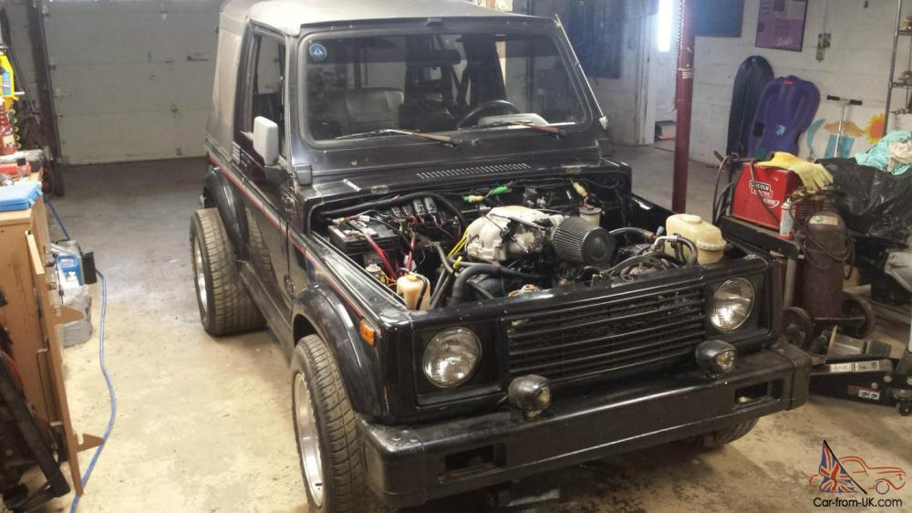 medium resolution of 87 suzuki samurai 4 3 vortec v6 conversion fast photo