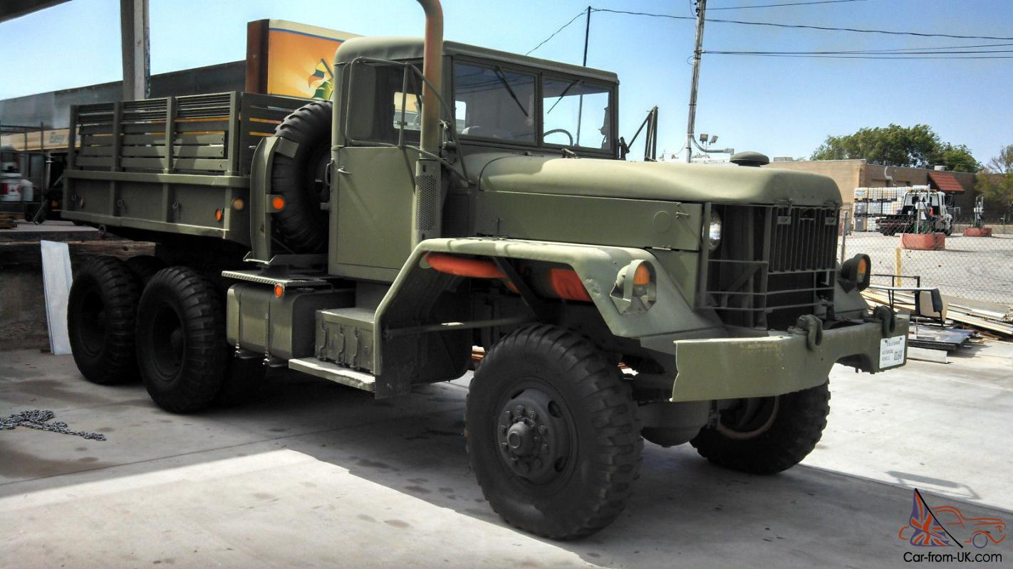 1975 AM General XM-35 5 ton military truck