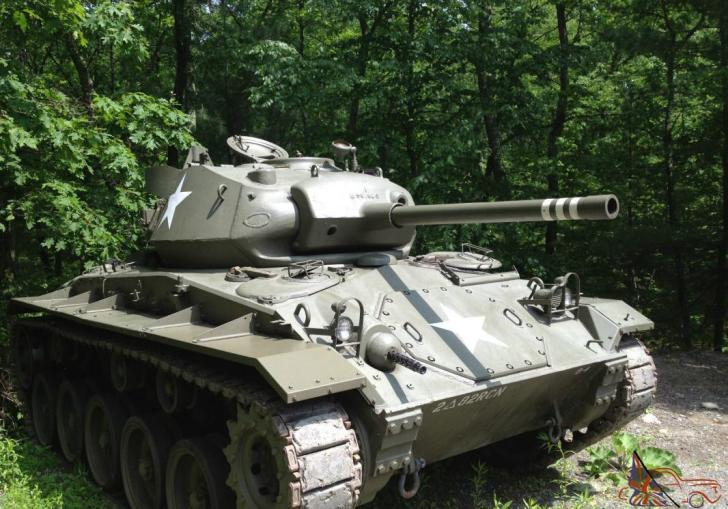M24 Chaffee Tank For Sale