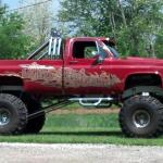 1985 Chevy 4x4 Lifted Monster Truck Show Truck Custom Truck