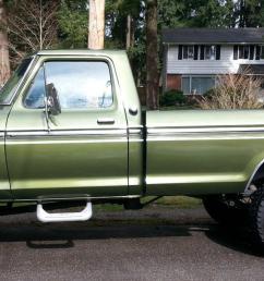 1975 ford highboy f 250 ranger 4x4 390 auto a c locking hubs buy [ 1782 x 800 Pixel ]