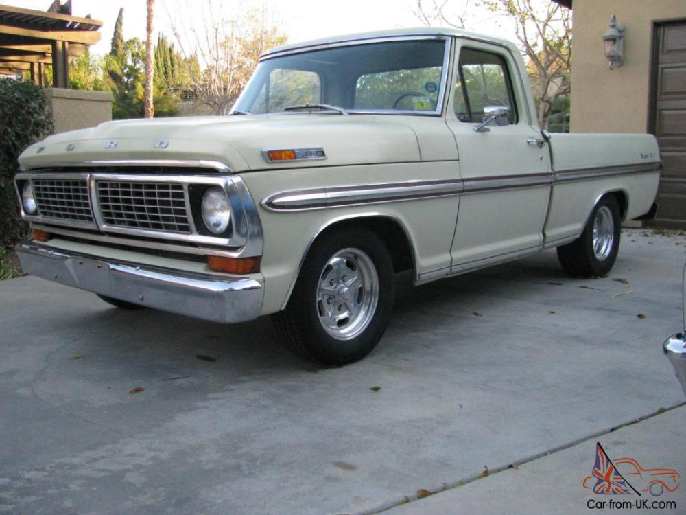 medium resolution of 1970 ford f100 short bed photo