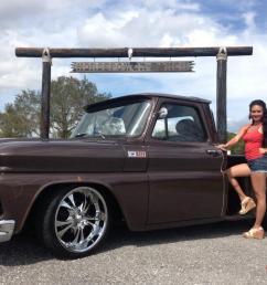 1965 chevy step side frame off restoration custom retro street rod pickup truck [ 1066 x 800 Pixel ]