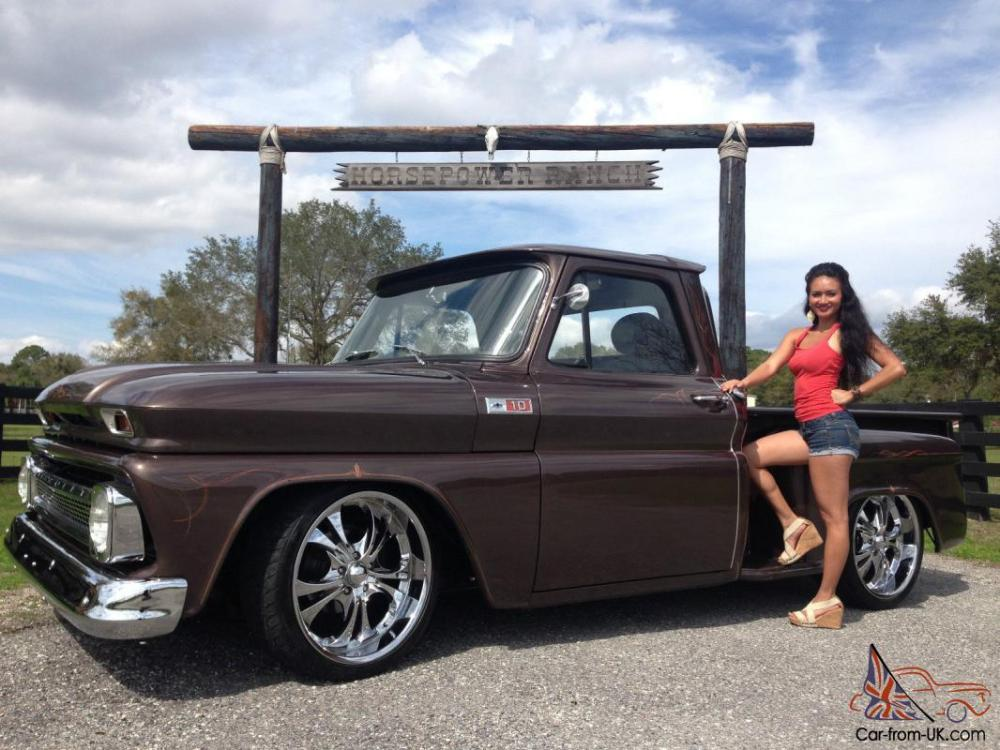 medium resolution of 1965 chevy step side frame off restoration custom retro street rod pickup truck