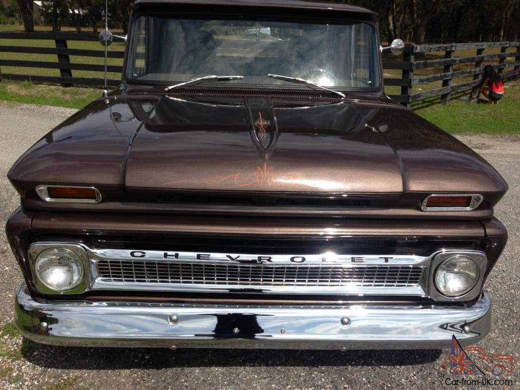 hight resolution of 1965 chevy step side frame off restoration custom retro street rod pickup truck