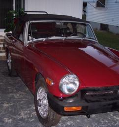 1976 mg midget convertible new paint runs looks great no reserve located  [ 1200 x 800 Pixel ]