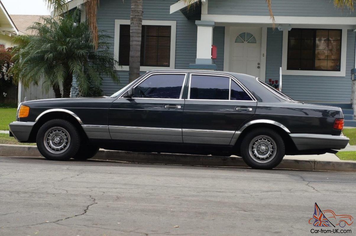 hight resolution of 1985 mercedes benz 300sd black pearl 67 132mi photo