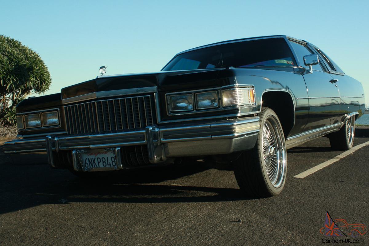 1975 Cadillac Sedan Deville Lowrider