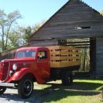 Rare 1935 1 1 2 Ton Ford Flatbed Truck Restored Vintage Antique Awesome Red