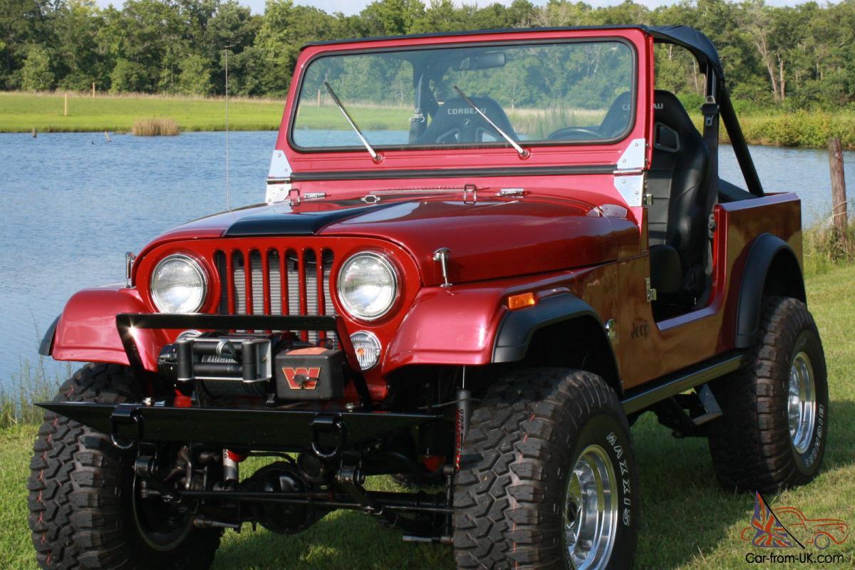 hight resolution of 1984 jeep cj7 diesel frame off restoration photo