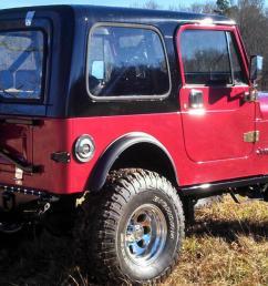1984 jeep cj7 diesel frame off restoration painless wiring harness kit  [ 1383 x 800 Pixel ]