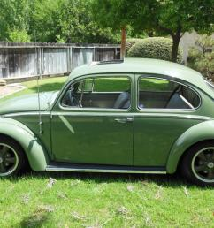 1965 vw volkswagen bug beetle 113 sunroof sedan restored resto cal look photo [ 1066 x 800 Pixel ]