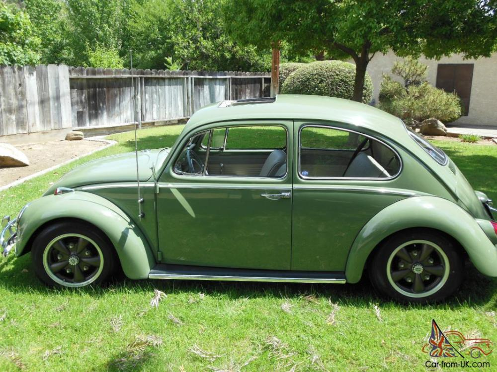 medium resolution of 1965 vw volkswagen bug beetle 113 sunroof sedan restored resto cal look photo