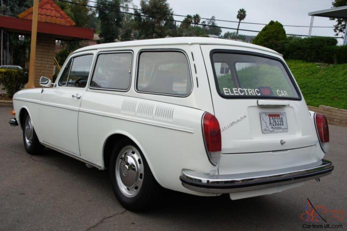 electric car, 1971 vw squareback conversion