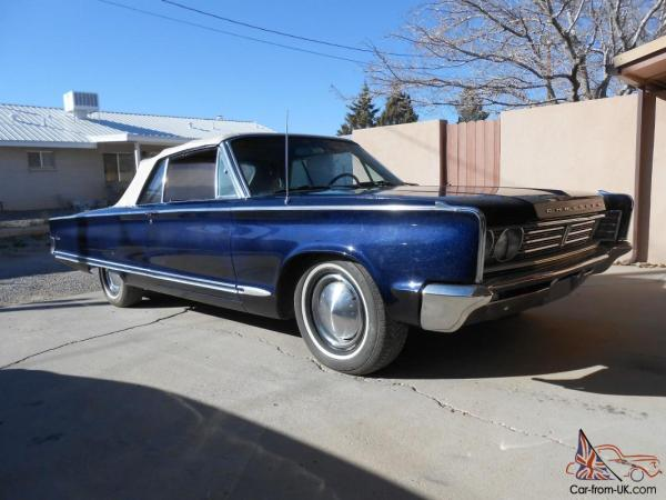 1966 Chrysler Newport Convertible 2Door 383 cid Factory