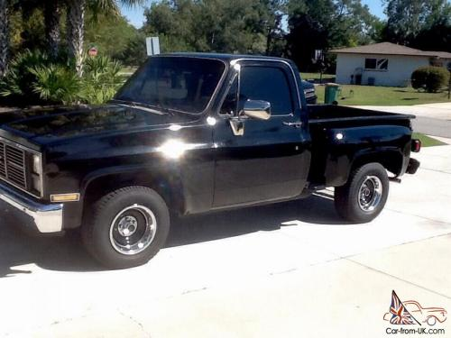 small resolution of black 1987 chevy pickup