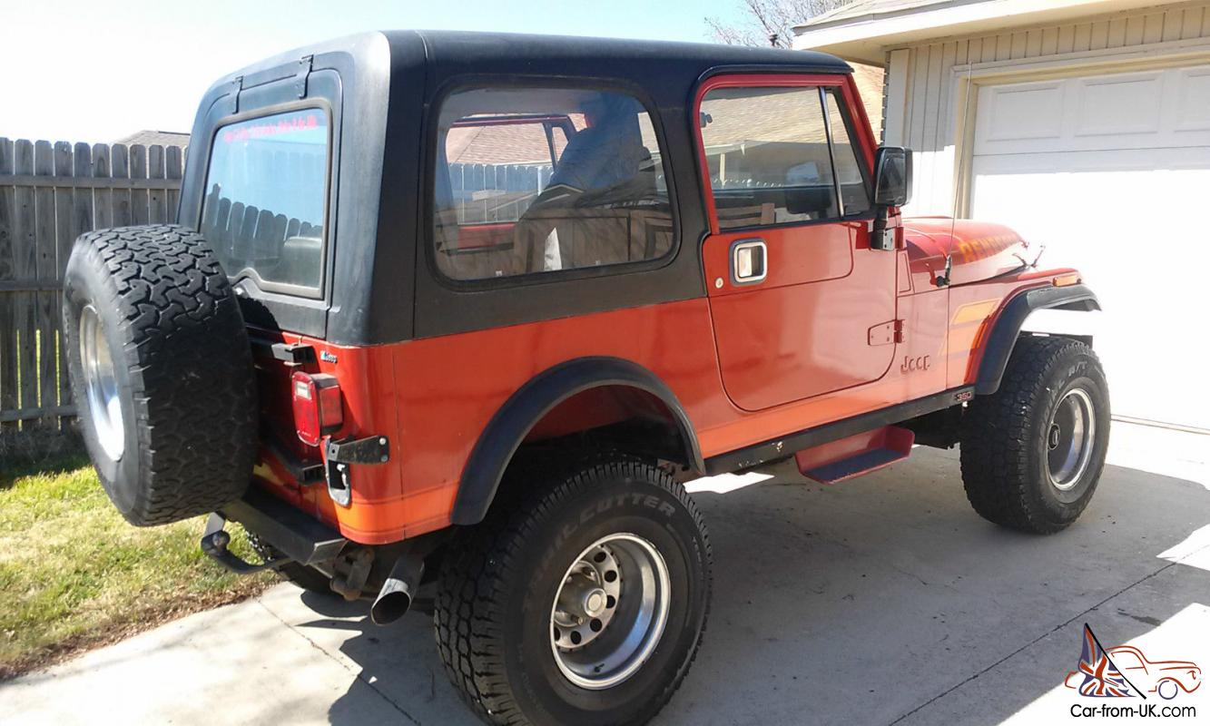 hight resolution of  jeep cj7 renegade w chevy 350 conversion no reserve 1983 cj conversion wiring diagram on