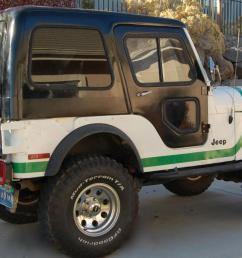 1976 jeep cj5 ford v8 warren winch 3 tops soft hard bikini nicely refurbished [ 1318 x 800 Pixel ]