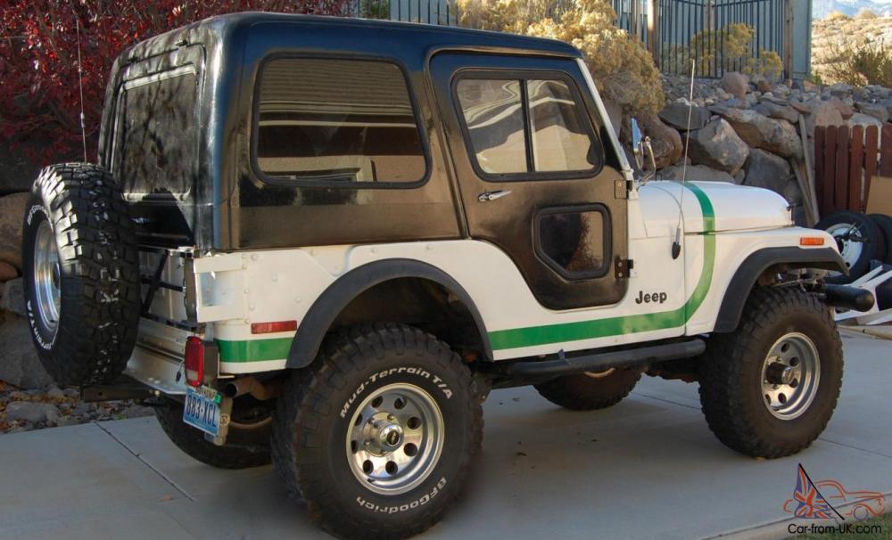 medium resolution of 1976 jeep cj5 ford v8 warren winch 3 tops soft hard bikini nicely refurbished