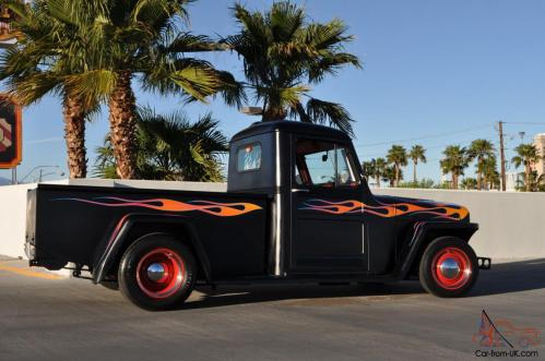 small resolution of 1948 full custom willys overland pickup truck 350 mustang ii front end