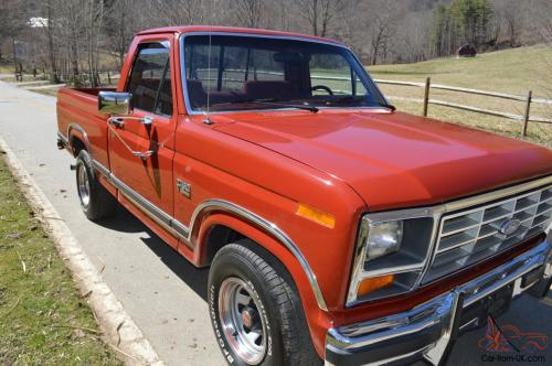 small resolution of 1986 ford f 150 xlt lariat pickup 5 0l 302 mint condition collector quality