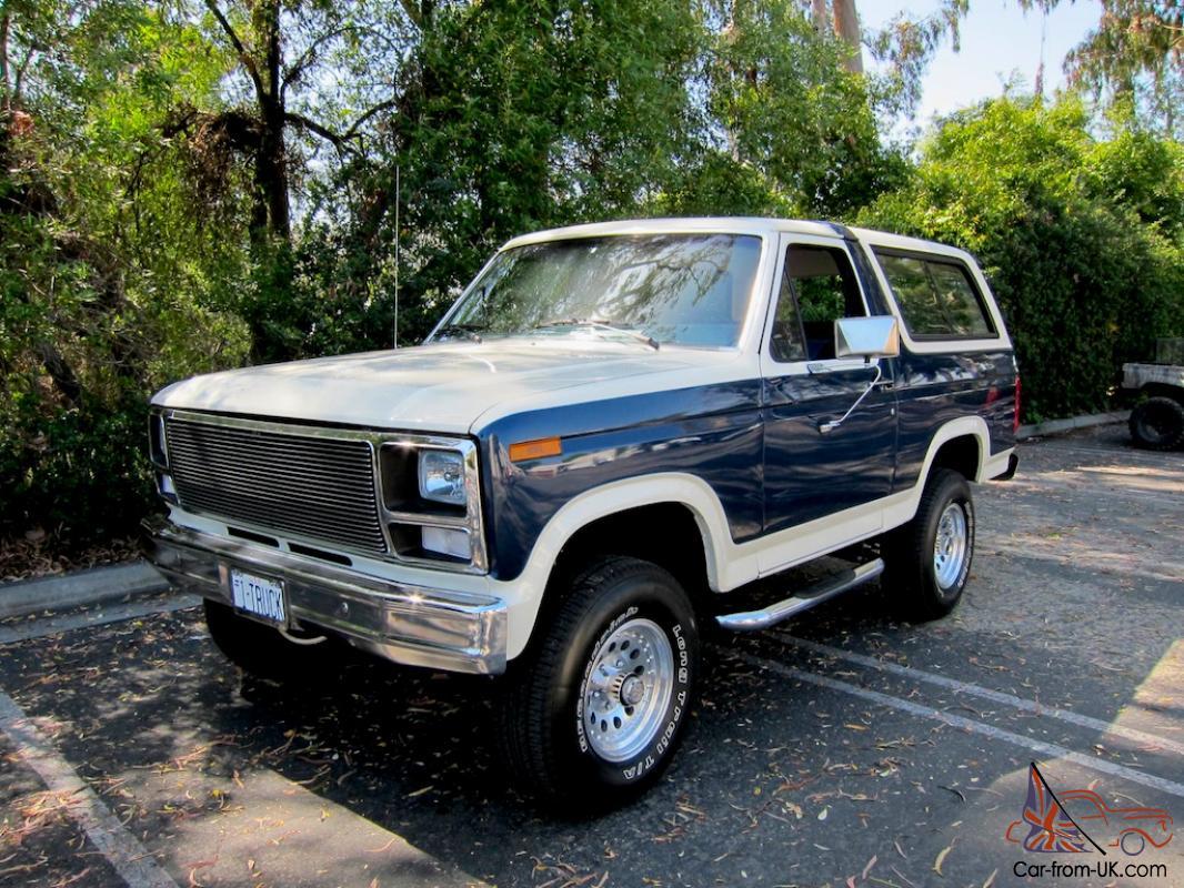 1981 Ford Bronco XLT Celebrity NFL Player MINT Rare Ground