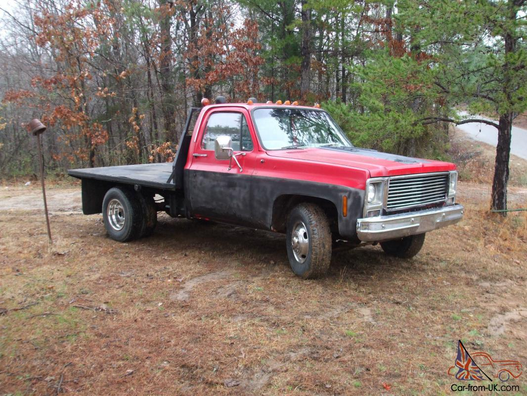 hight resolution of 1980 gmc c35 flat bed 350 4 speed manual photo