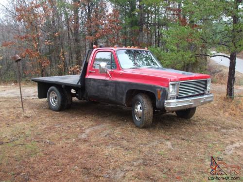 small resolution of 1980 gmc c35 flat bed 350 4 speed manual photo
