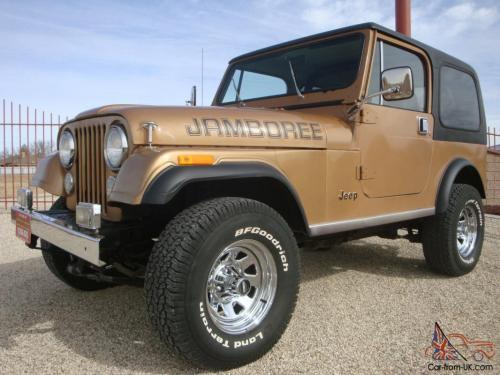 small resolution of 1982 jeep cj7 jamboree edition 30th anniversary cj 7 w ac hardtop survivor cj 7