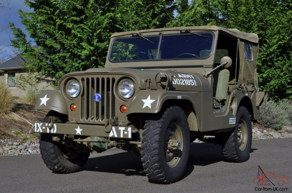 medium resolution of 1952 willys military army jeep 1st generation early korean war m38a1 4wd