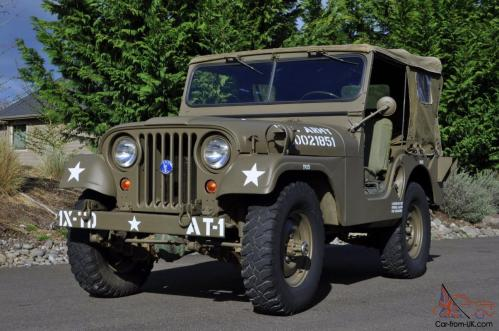 small resolution of 1952 willys military army jeep 1st generation early korean war m38a1 4wd