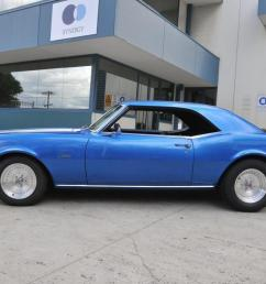 1968 chevrolet camaro 350 v8 t 700 aut0 disc brake front top paint and trim in [ 1204 x 800 Pixel ]