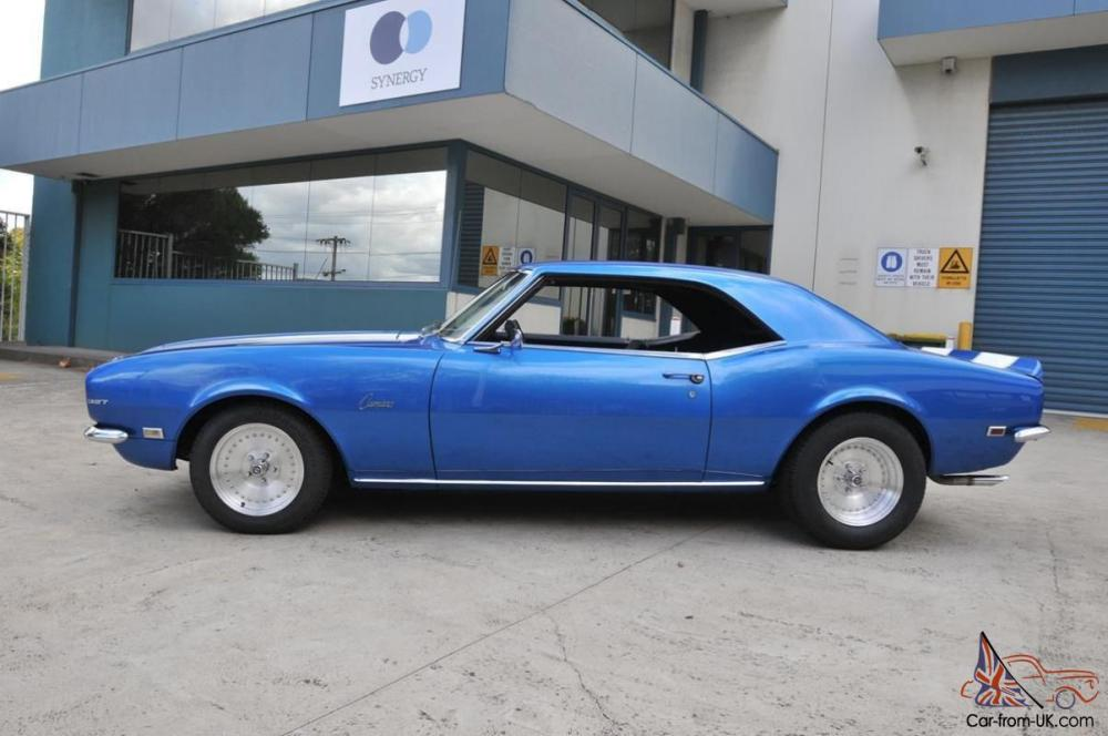 medium resolution of 1968 chevrolet camaro 350 v8 t 700 aut0 disc brake front top paint and trim in