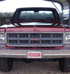 1978 gmc sierra grande k15 4x4 short bed pickup same as k10 k 10 chevy swb [ 1066 x 800 Pixel ]