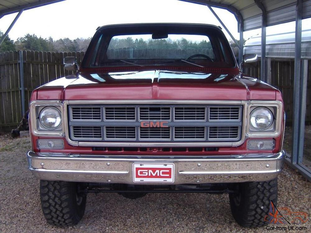 medium resolution of 1978 gmc sierra grande k15 4x4 short bed pickup same as k10 k 10 chevy swb