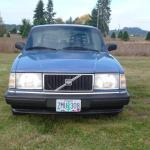 Volvo 240 Sedan 1989 Low Miles Automatic Blue
