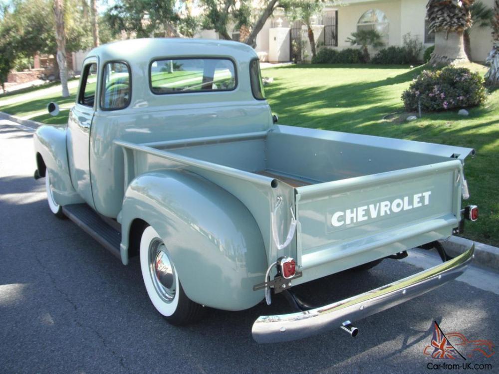 medium resolution of 1951 chevrolet 3100 pickup 5 window shortbed 1947 1948 1949 1950