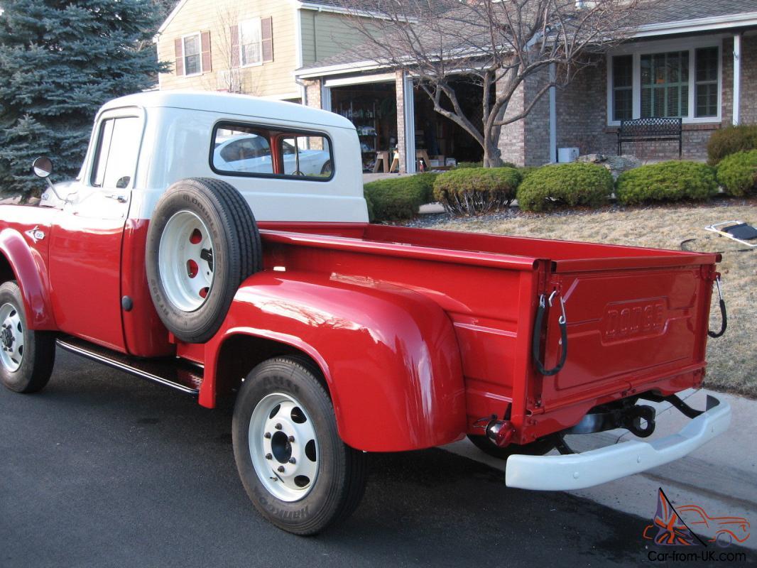 1957 dodge w100 power