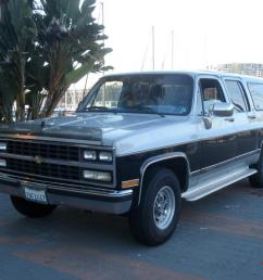 1989 chevrolet suburban gmc chevy low miles 454 v8 california 77 000 original [ 1066 x 800 Pixel ]