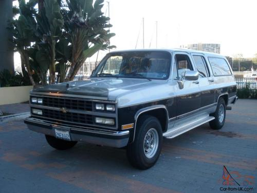 small resolution of 1989 chevrolet suburban gmc chevy low miles 454 v8 california 77 000 original