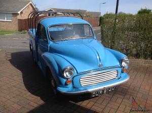 Pickup For Sale: Morris Minor Pickup For Sale