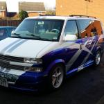Chevrolet Astro Day Van One Off Custom Like Gmc Safari