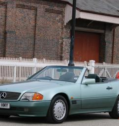 1991 mercedes benz 500sl 32 r129 roadster rare colour exceptional condition [ 1066 x 800 Pixel ]