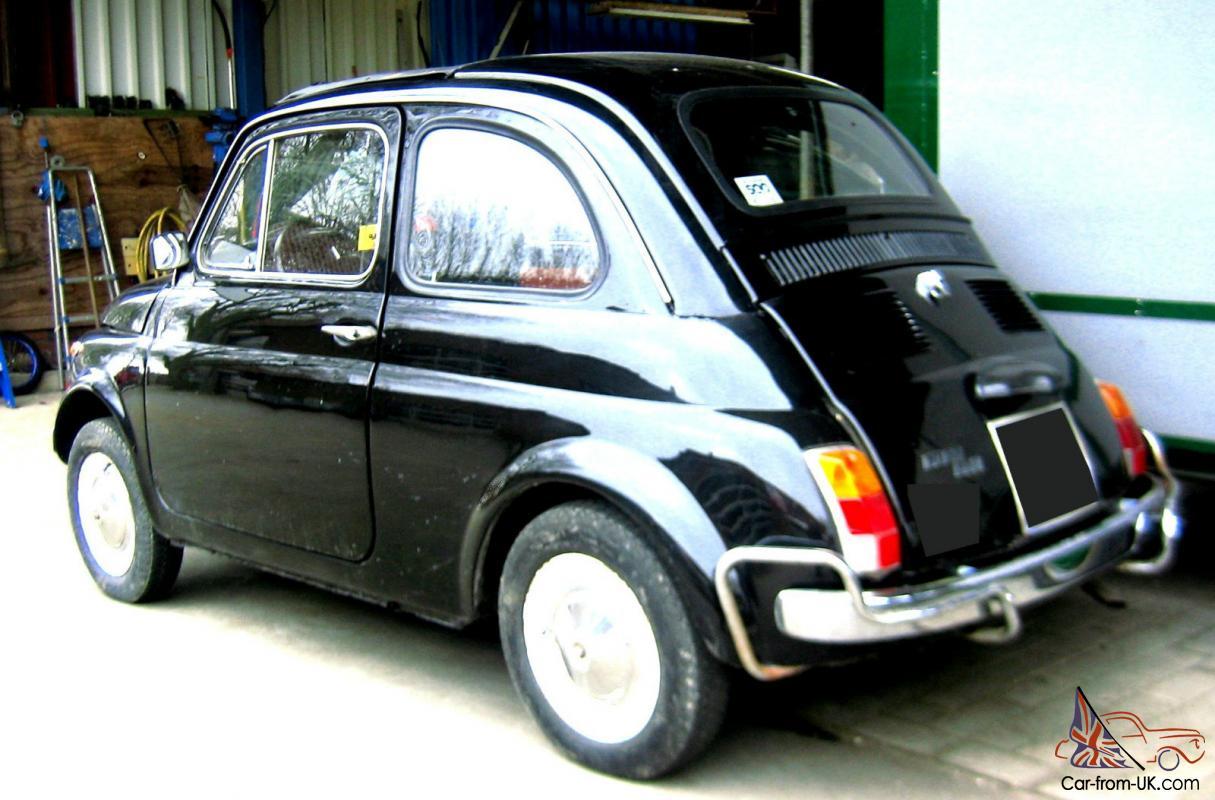 brilliant 1968 fiat 500